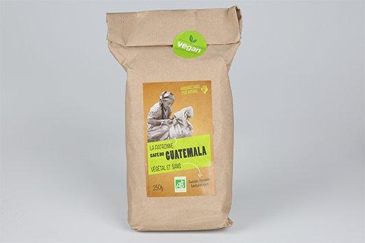 Etichetta ecosostenibile e vegana per caffè