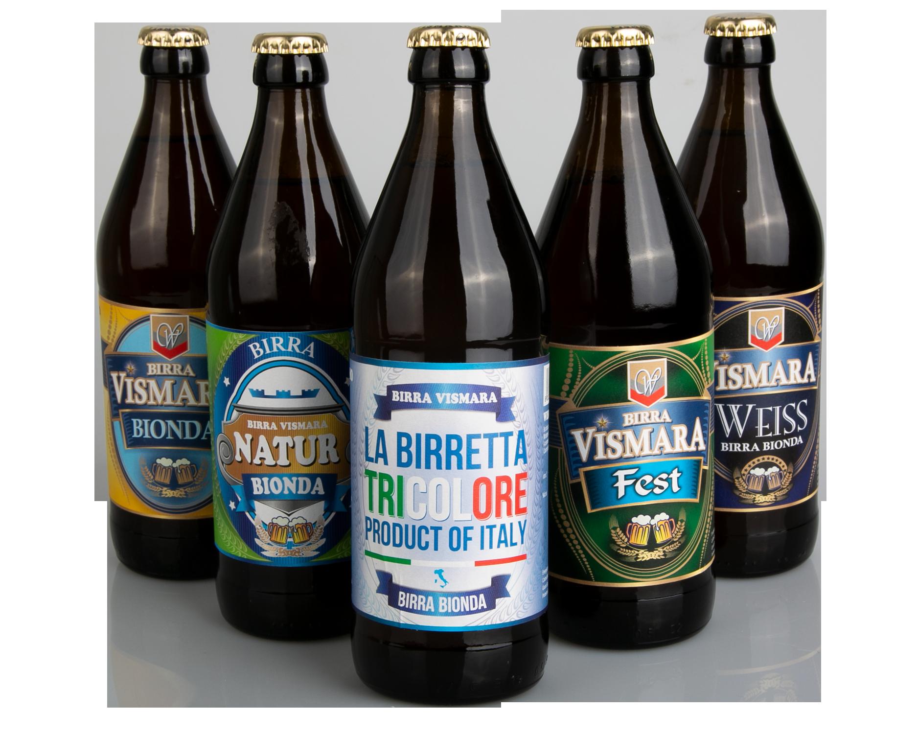 Etichette per birra Vismara