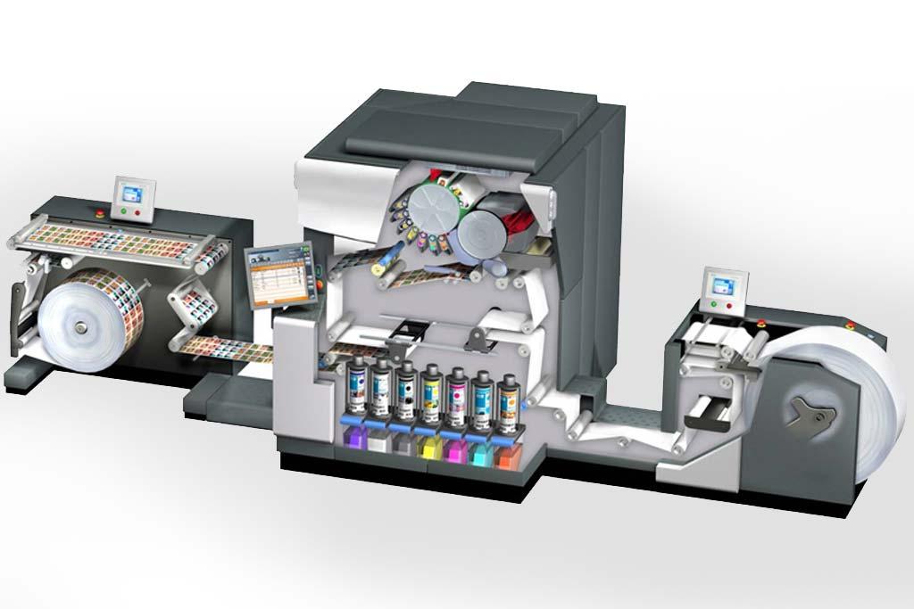 Sistema di stampa HP Indigo
